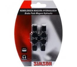 Simson Remblokken  Tbv Magura Hydr Velgr Hs33/hs11
