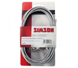 Simson Remkabel  Shimano Nexus Rollerbra Met Stelbout, Klembout En Inbussleutel