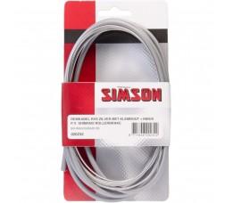 Simson Remkabelset  Shimano Rollerbrake Met Klembout Pv Br-im45/55/80/81/85 Zil