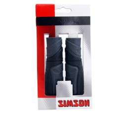 Simson Handvatten  Full Grip Donker Grijs/zwart