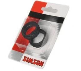 Simson Dynamohoedje  Axa Hr Traction Per 2 Stuks Verpakt