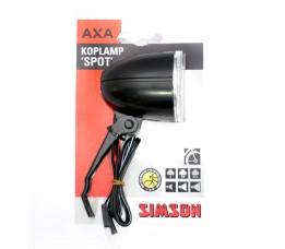 "Simson Naafdynamokoplamp  ""spot"" Halogeen, 10 Lux On/off"