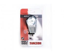 """Simson Batterijkoplamp  """"galeo"""" Incl .batterijen"""