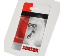 """Simson Verbindingsschakel  3/32"""" 7,8 Speed"""