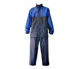 Merkloos Regenpak Import Blauw M