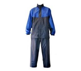 Merkloos Regenpak Import Blauw L