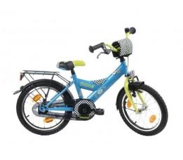 "Bike Fun Fiets Bike Fun  18"" Rookie City Jongens Blauw/groen E18rk50"