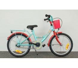 """Fiets Bike Fun 16"""" Poppy Meisjes Lichtblauw/rood 16pop15"""