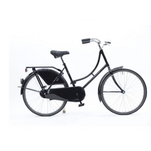 "Bike Fun Verv==fiets Bike Fun 24"" Oma Remnaaf Zwart Toer-tour 240ma-1"