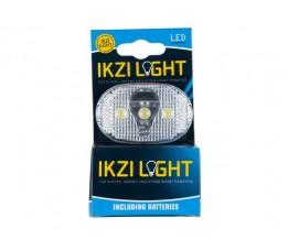 Ikzi Koplamp Op Batt Ikzi White Light 3 Led 20 In Doos 1420325n