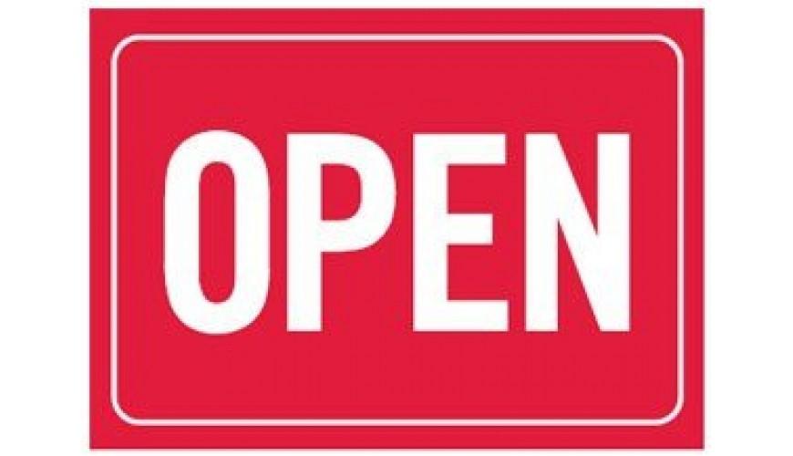 Extra open